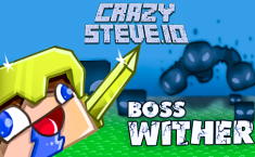 CrazySteve.io - MINECRAFT.IO | Play Games IO